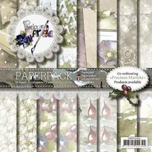 DESIGNER BLÖCKE  / DESIGNER PAPER Precious Marieke, Paper Pack, Vintage julen