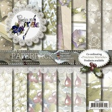 DESIGNER BLÖCKE  / DESIGNER PAPER Prezioso Marieke, Carta Pack, Vintage Natale