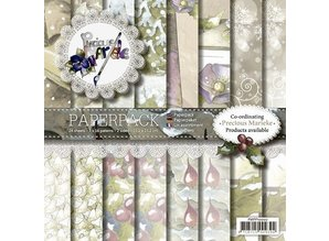 DESIGNER BLÖCKE  / DESIGNER PAPER Precious Marieke, Paperpack , Vintage Christmas