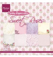 Marianne Design Designersblock, dolce delle rose
