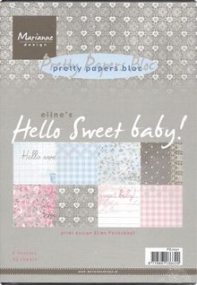 DESIGNER BLÖCKE  / DESIGNER PAPER Designersblock, Hello Sweet baby!