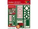 Exlusiv Bastelset con diseños de tarjetas y etiqueta en relieve