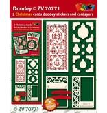 Exlusiv Bastelset mit Karten Layouts und geprägte Sticker