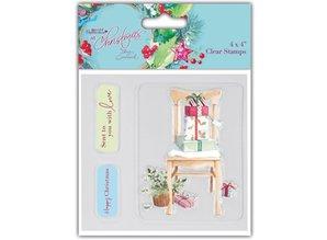 Stempel / Stamp: Transparent Klare stempler, julemotiver