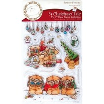 Clear stamps, Christmas motifs