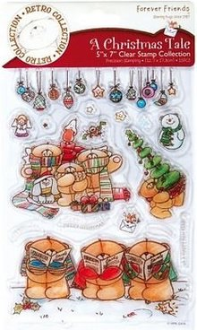 Forever Friends Transparent Stempel, Weihnachtsmotive