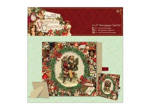 Exlusiv 3D die cut sheet, Bastelset: Victorian Christmas