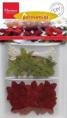 Embellishments / Verzierungen Un insieme mestiere per progettare la propria rosa di Natale