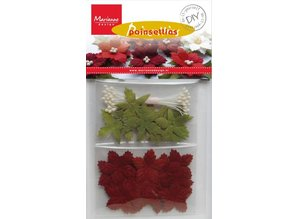Embellishments / Verzierungen A craft set for designing their own Christmas Rose