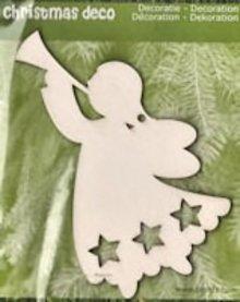 Objekten zum Dekorieren / objects for decorating 1 Julen Angel i træ