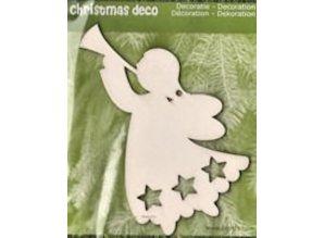 Objekten zum Dekorieren / objects for decorating 1 Ángel de la Navidad en madera