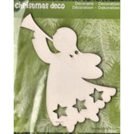 Objekten zum Dekorieren / objects for decorating 1 Engel van Kerstmis in hout