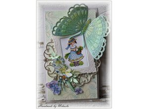 Marianne Design Collectable Tiny's butterfly 1, mask + stamp