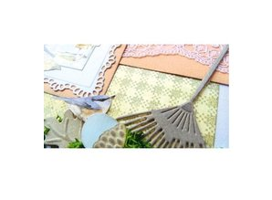 Marianne Design Punching and embossing template Creatables, garden rake
