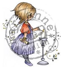 Marianne Design Gennemsigtige frimærker, julemotiver, Snoesje