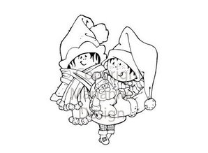 Marianne Design Clear Stamps, Christmas motif, Snoesjes