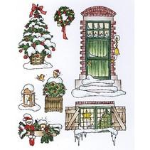 Transparente Stempel, Weihnachtsmotive