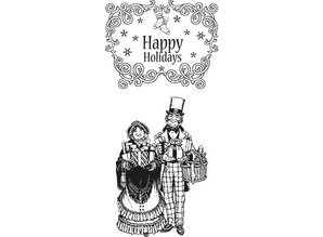 Marianne Design Rubber stamps, Christmas motifs