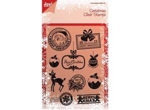 Joy!Crafts und JM Creation Clear Stamps, julemotiver