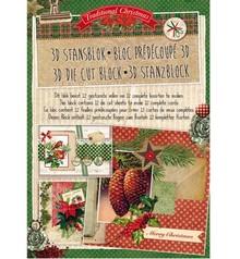 Studio Light 3D Stanzblock - Traditional Christmas