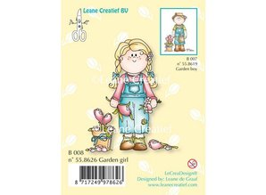Leane Creatief - Lea'bilities Transparent stempel, Have pige