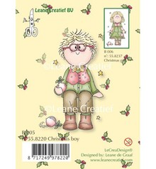 Leane Creatief - Lea'bilities Transparent stamps, Christmas boy