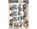 BILDER / PICTURES: Studio Light, Staf Wesenbeek, Willem Haenraets A4 Gestantzte 3D sheet, Men motives
