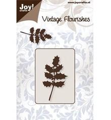 Joy!Crafts und JM Creation Punzonatura e goffratura stencil foglie manica