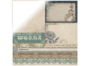 "Designer Papier Scrapbooking: 30,5 x 30,5 cm Papier Scrapbooking Designer Series papir, ""Couture Collection Edition II"""