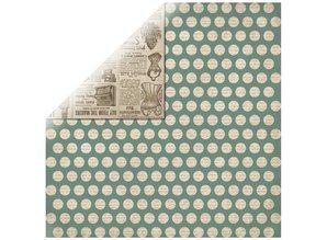 Designer Papier Scrapbooking: 30,5 x 30,5 cm Papier Set: Clear stamps, silhouette + 2 sheets Designer Paper + 2 based cards!