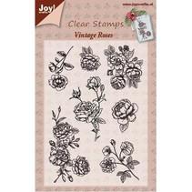 Transparent stempel, Vintage Rose