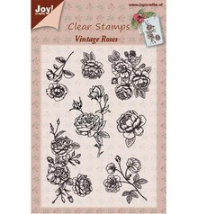 Joy!Crafts und JM Creation Transparent stempel, Vintage Rose