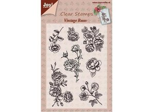 Joy!Crafts und JM Creation Transparent stamp, Vintage Rose