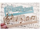 Joy!Crafts und JM Creation Cutting and embossing folder: music