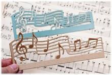 Joy!Crafts und JM Creation Schneide- und Prägeschablone: Musiknoten