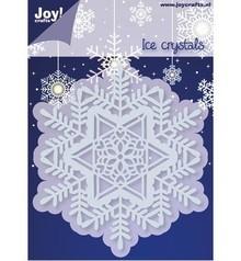 Joy!Crafts und JM Creation Stampaggio e goffratura stencil, 1 Cristallo di ghiaccio
