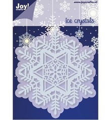 Joy!Crafts und JM Creation Stamping and Embossing stencil, 1 Ice Crystal