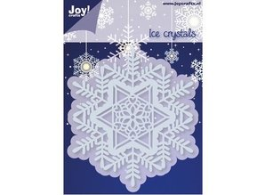 Joy!Crafts und JM Creation Stempling og prægning stencil, 1 Ice Crystal