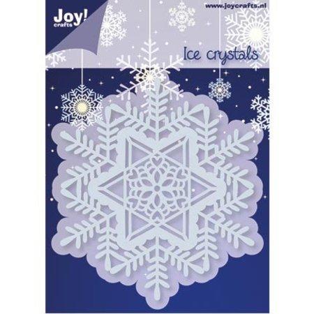 Joy!Crafts und JM Creation Stempling og prægning stencil, 1 Ice Crystal