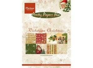 DESIGNER BLÖCKE  / DESIGNER PAPER PrettyPapers - A5 - victorianske jul