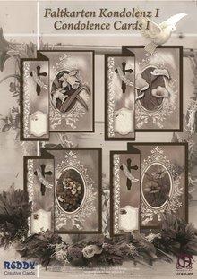 BASTELSETS / CRAFT KITS: Pésames plegable para 4 tarjetas + sobres