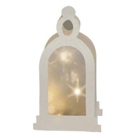 Schablonen und Zubehör für verschiedene Techniken / Templates Plastic Mask 3D lanterne, Størrelse: 21 x 30 cm