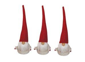 Exlusiv Bastelpackung, Weihnachtswichtel, 13 cm, 3 Imp
