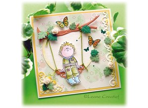 Leane Creatief - Lea'bilities Clear stamps, Bambini boys