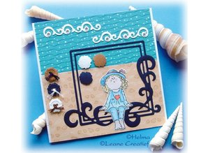 Leane Creatief - Lea'bilities Clear stamps, Bambini girls