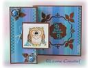 Leane Creatief - Lea'bilities Gennemsigtige frimærker, lille ugle Tweetke