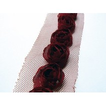 Florets on Tulband, dark red