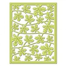 Spellbinders und Rayher Stempling og prægning stencil, metal stencil Shapeabilities, Card Fronter / lagner