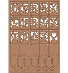Pronty Kraftliner, decorazione di Natale