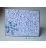 Sizzix 2 Embossing Folder 11,43x14,61 cm, Schneeflocke und Sterne